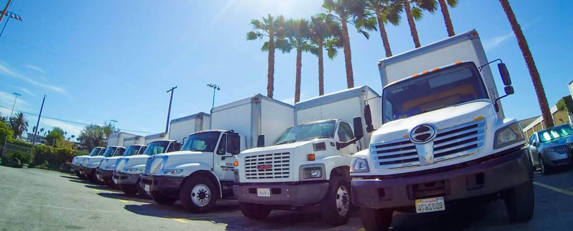 Bay Area Movers Hino Trucks
